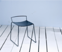 Lucas Bros Cafe Stool With Padded Seat