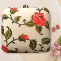 Ladies Embroidery Clutch Bag