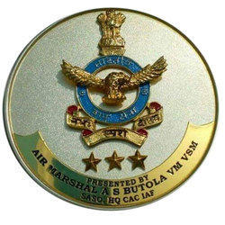 Antique Air Marshal Brass Medal