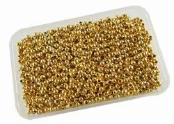 Eshoppee 1kg Gold Color Metal Ball for Jewellery Making Fitting And Findings