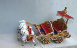 Wooden Rath for Decoration