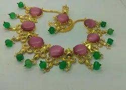 Colour Stone Necklace Set