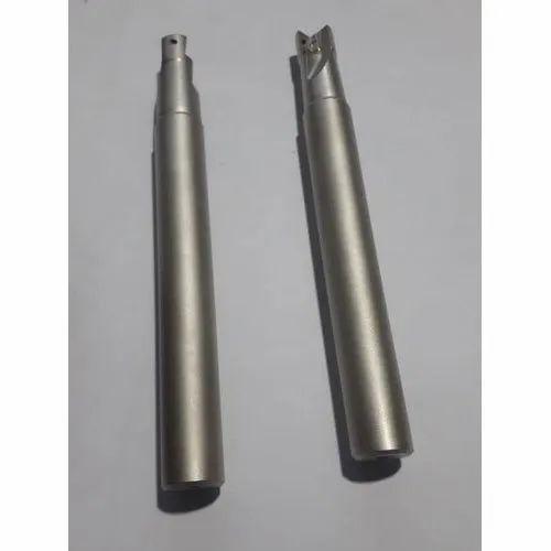 NK ENGINEERS Tungsten Carbide Solid Carbide Spot Weld Drill Bit, Material Grade: En47