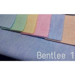 Plain Linen Shirting Fabric