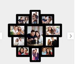 Black Mdf Photo Collage Frame Pcf 14