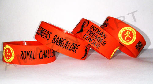 in printed screen silicone supplier products wristbands silk silicon bands manufacturer