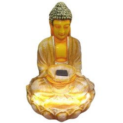 3 Feet Fiber Buddha Water Fountain