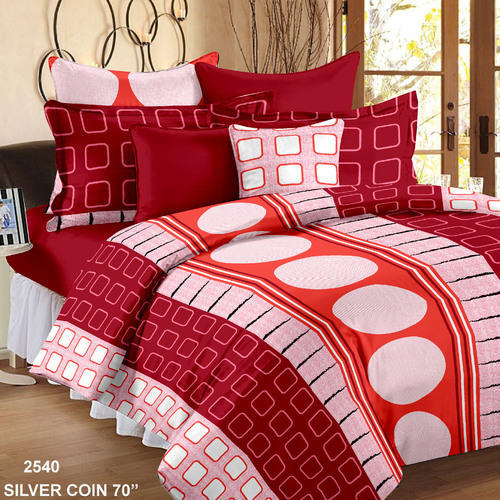 Charmant Cotton Single Size Bed Sheet