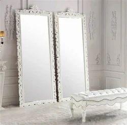 Crown Wooden Mirror