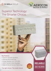 Aerocon Light Weight Blocks, Shape: Rectangular, Size: 24 X 8 X 3/4/6/8/9