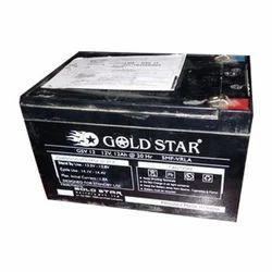 Gold Star VRLA Battery, Capacity: 12 Ah, Voltage: 12 V