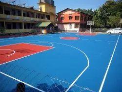 Basketball Court Construction Service
