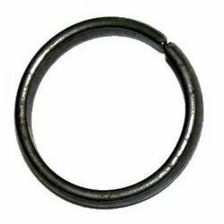 Black Horse Shoe Ring