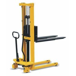 Manual Hydraulic Fork Stacker