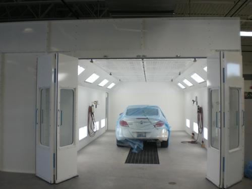 industrial paint booth, industrial spray booth