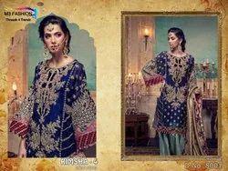 M3 Fashion Rimsha-4 Series 8001-8003 Stylish Party Wear Net Suit