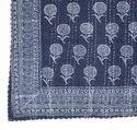 Designer Indigo Kantha Bed Cover