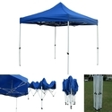 Quick Foldable Gazebo Tent - 10'x10' - Blue