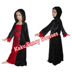 Kids Witch Hood Costume