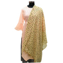 Polka Dot Printed Cotton Dupatta