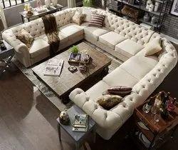Chesterfiled U-Shape sofa