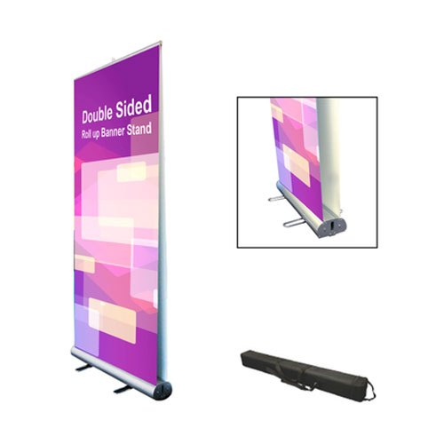 Outdoor Aluminium Roll Up Banner Stand At Rs 2200 Piece र ल