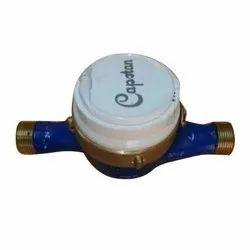 Brass Capstan Water Flow Meter, Size: 4 - 6 Inch
