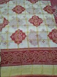 Cotton Bandhej Gharchola Sarees