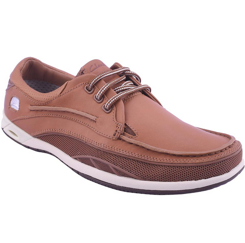 gancho tabaco Pino  Brown Men Clarks Orson Lace Casual Shoes Tan, Size: 7, Rs 7499 /pair | ID:  19496622355