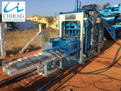 Chirag Automatic  Concrete Brick Machine