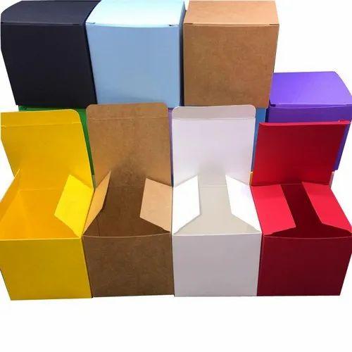 Multi Color Plain Corrugated Box