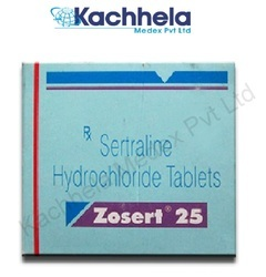 Zosert 25mg Tablets