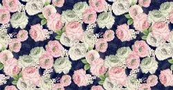 Floral Printed Satin Silk Fabric