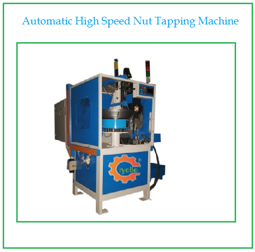 Automatic High Speed Nut Tapping Machine