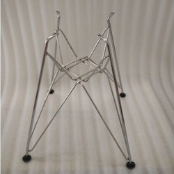 Silver Modern Stainless Steel Chair Frame, Size: 16 Inch