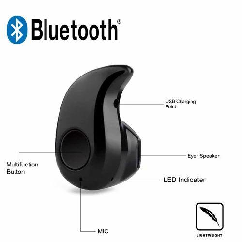 43b59ed49e3 Black Wireless Kaju Bluetooth Headset, Range :10 Meter, Rs 75 /100 ...