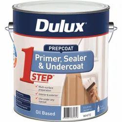 White Liquid Dulux Oil Based Primer, Packaging Size: 4 Litre