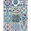 Designer Handmade Glazed Ceramic Wall Tiles