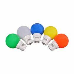 Plastic Euro Lights 0.5W Colored LED Bulb
