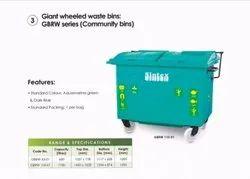 4 Wheeled Waste Bin 1100 Ltr