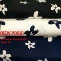 New York 100% Cotton Discharge Print Shirting Fabrics