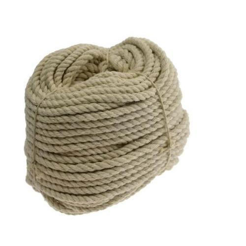 Industrial Natural Jute Rope, Size: 10-15 mm