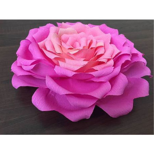 Giant paper flower kagaz ke phool mesmeri craft bengaluru id giant paper flower mightylinksfo