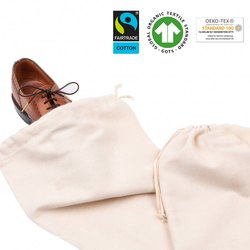 Organic Cotton Shoe Bag