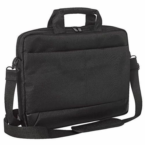 3afe605e732f Canvas Black Laptop Side Bags, Rs 450 /piece, P P Enterprises | ID ...