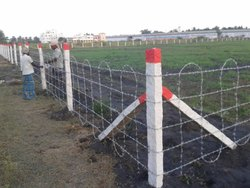 Fencing Work Service - Barbed Wire Fencing Work Manufacturer from Pune