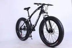 Black Jaguar Fat Tyre Cycle