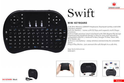 Mini Wireless Keyboard - Swift, Computer Hardware & Peripherals