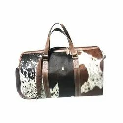 Khandelwal Exims Brown Genuine Leather Handbag, For Daily Use, Gender: Women