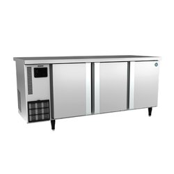 Western Stainless Steel RTW-177MS4-GN Three Door Under Counter Freezer, Electricity, -2 To 12 Deg C